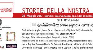 """Storie della nostra storia: lunedì 29 si presenta """"Nei cieli di carta. Studi per Ettore Catalano"""""""
