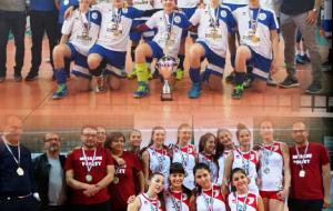 La pallavolo brindisina celebra i successi regionali dei giovani della Green Volley Francavilla e dell'Appia Project Mesagne