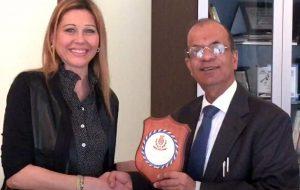 Sottosegretario Onu in visita al Comune di Brindisi