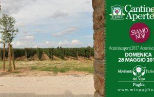Domenica 28 torna Cantine Aperte: appuntamento in 5 cantine della Provincia di Brindisi