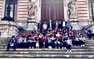 L'On. Ciracì (Direzione Italia) ha accolto alla Camera due nuove scolaresche della provincia di Brindisi