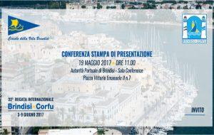 Presentata la XXXII regata Brindisi-Corfù: il video