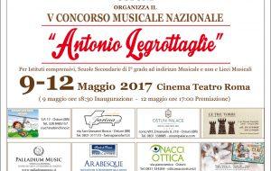 """Dal 9 al 12 Maggio torna ad Ostuni il concorso nazionale """"Antonio Legrottaglie"""""""