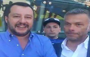 """Matteo Salvini: """"a Brindisi c'è una situazione drammatica. Occorre fare pulizia"""""""