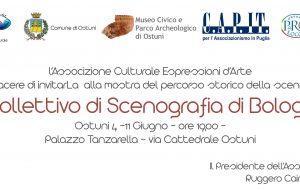 Ad Ostuni la mostra del collettivo di scenografia di Bologna