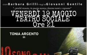 Palmina Martinelli, al Teatro Sociale due spettacoli dedicati alla ragazza arsa viva nel 1981