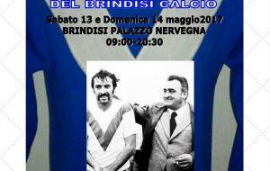 Solo per la maglia: in mostra a Palazzo Nervegna oltre 120 maglie che raccontano la storia del calcio brindisino