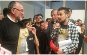 """La """"Tegola d'Oro"""" alla Scuola Media Barnaba-Bosco"""