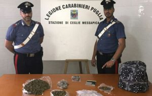 Mezzo Kg di marijuana in casa: arrestato 20enne