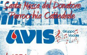 Avis: domani una messa ed un concerto per tutti i donatori di sangue di Brindisi