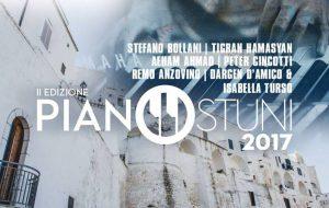 Grandi nomi per PianOstuni 2017: in scena Stefano Bollani, Tigran Hamasyan, Peter Cincotti, Remo Anzovino, Dargen D'Amico e Aeham Ahmad