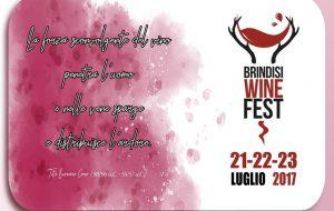 Da stasera Brindisi si tuffa nel suo nuovo Wine Fest