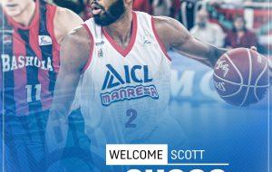 New Basket: Il nuovo arrivo è la guardia-ala americana Scott Suggs