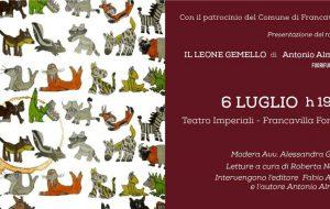Il leone gemello: giovedì 6 a Francavilla la presentazione del nuovo romanzo di Antonio Almiento