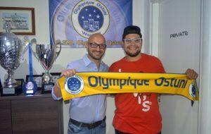L'Olympique Ostuni conferma di Danilo Salamida.