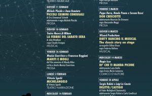 """Nuovo Teatro Verdi: i mini abbonamenti """"La dolce vita» e «La grande bellezza» per tutti"""