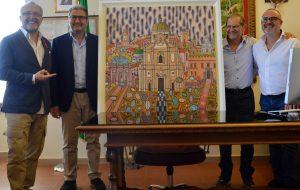 Un Dall'Olio nella Pinacoteca d'Arte Contemporanea di Castello Imperiali