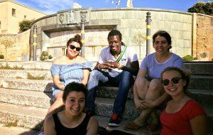 Studentesse americane dell'Università Spring Hill in stage a Brindisi