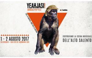 Diario di bordo, pag. n. 368: Torna Yeahjasi! Brindisi Pop Fest
