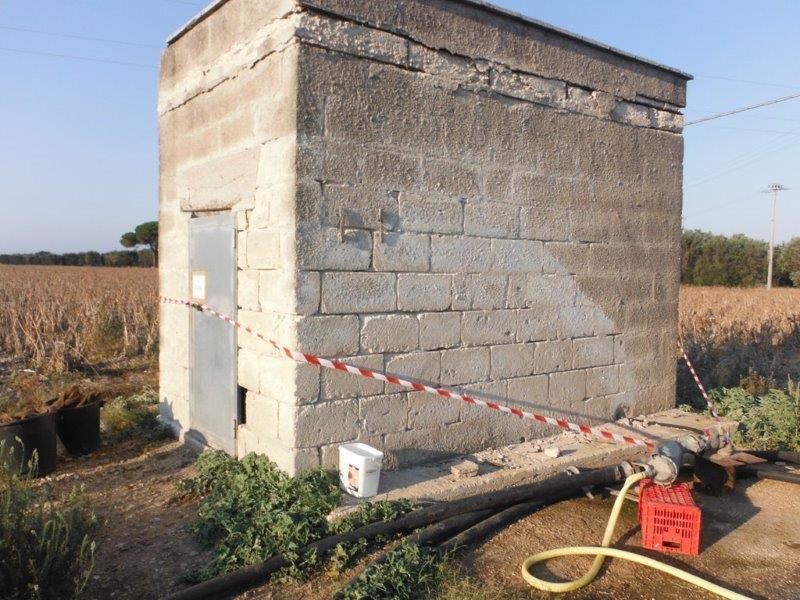 Schema Elettrico Pompa Sommersa Pozzo : Con una poma elettrica rubava lacqua da un pozzo di proprietà della