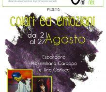 Colori ed Emozioni: Massimiliano Caroppo e Tina Carlucci espongono al Jan-Net di Cisternino