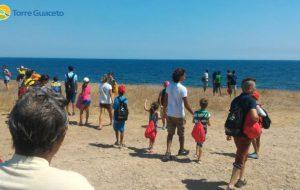 Dieci bambini saharawi a Torre Guaceto: l'emozione della scoperta del mare