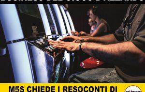 """M5S: """"a San Vito la ludopatia è diventata una vera emergenza silenziosa"""""""