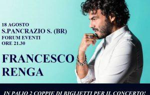 Dona il sangue e vinci i biglietti per il concerto di Francesco Renga