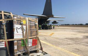 Partito da Brindisi volo umanitario con farmaci per un ospedale libico