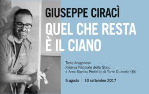 L'arte di Giuseppe Ciracì in mostra a Torre Guaceto