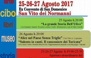 """Tra letteratura, musica e tradizione: a San Vito in arrivo le """"Notti della Cultura Mediterranea"""""""