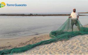 Torre Guaceto: sequestrata grande rete da pesca nell'area protetta