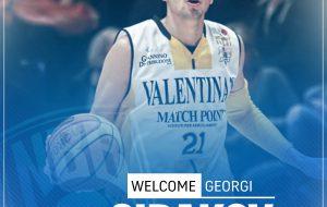 New Basket Brindisi: Georgi Sirakov farà parte del roster 2017-18