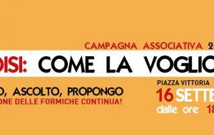 """Sabato """"Brindisi Bene Comune"""" in Piazza Vittoria per la campagna """"La Città che Voglio"""""""