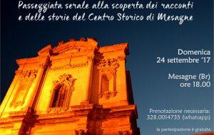 Storie da Scoprire: domenica passeggiata serale nel Centro Storico di Mesagne