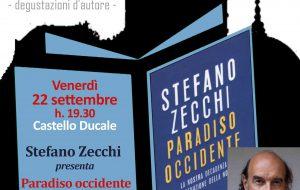 """Un Castello di Libri: Stefano Zecchi a Ceglie per presentare """"Paradiso Occidente"""""""