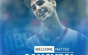 New Basket Brindisi: rescissione consensuale con Matteo Canavesi