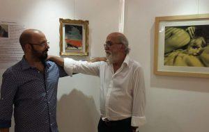 Inaugurata Talis Pater, doppia mostra personale di pittura di Giovanni e Alessandro Marziano