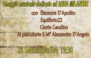 Omaggio musicale dedicato ad Anna Milanese presso le Rssa Villa Bianca e Casa Melissa a Mesagne