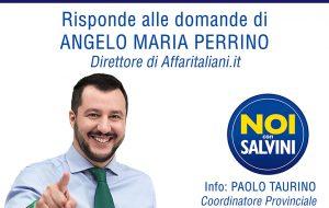 Matteo Salvini a Ceglie Messapica