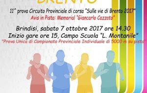 """Fidal ed Avis organizzano la gara podistica """"5000 m del Brento"""""""
