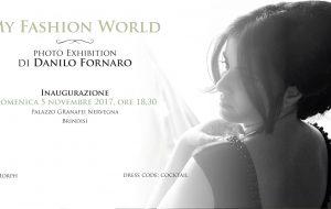 My Fashion World: Danilo Fornaro espone a Palazzo Nervegna