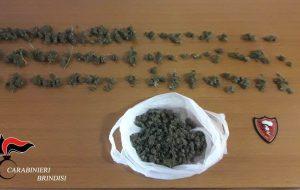 """Trovato con 118 grammi di """"erba"""": in carcere 34enne"""