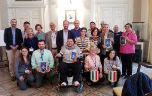 """Progetto """"Erasmus"""" sull'inclusione fra disabili e normodotati attraverso la musica. Le delegazioni ricevute dal sindaco Zaccaria"""