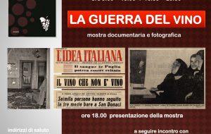 """Domenica apertura straordinaria dell'Archivio di Stato di Brindisi con la mostra documentaria """"La guerra del vino"""""""