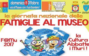 Il MAPRI di Brindisi aderisce alla Giornata Nazionale delle Famiglie al Museo