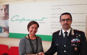 Il nuovo Comandante Provinciale dei Carabinieri ha visitato la sede di Confesercenti