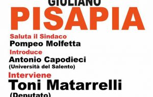 """Giuliano Pisapia a Mesagne """"Per un campo largo e plurale"""""""