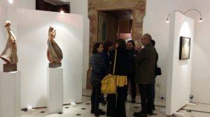 """Inaugurata la IV Rassegna d'Arte Contemporanea """"Autunno d'Autore"""" al Castello di Mesagne"""
