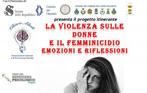 8 ottobre: La Violenza sulle Donne e il Femminicidio Emozioni e Riflessioni, l'Associazione ChiaraMente apre il confronto tra Cittadini.